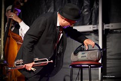 Harlem Rhythm Band - Pierre Fournier (Patrick Doreau) Tags: harlemrhythmband jazz grenoble musicien festival pléneufvalandré bretagne trompette vocal music musique