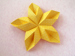 Stella floreale - Floral Star (Francesco Guarnieri) Tags: 3dstar christmas christmasstar decoration fiore flower geometric geometry modular modularorigami papercrafts pliage ring star threedimensional stella floreale stellafloreale floralstar origami paperfolding papiroflexia