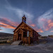 Bodie Church September Sunset
