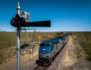 Amtrak #3 in Las Vegas, NM
