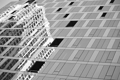 JJN_8452 (James J. Novotny) Tags: reflecting facade bw buildings unlimitedphotos unlimited chicago citylife city nikon d750 downtown illinois