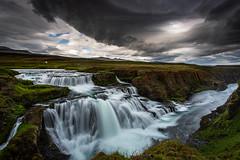 Reykjafoss (Jón Óskar.) Tags: reykjafoss waterfall river skagafjörður jónóskar iceland