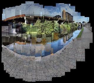 Nottingham Canal and Jury's Inn
