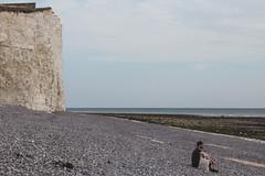 IMG_2737 (Serafima Telkanova) Tags: sevensisters uk eastborn eastdean sky sea beach rock