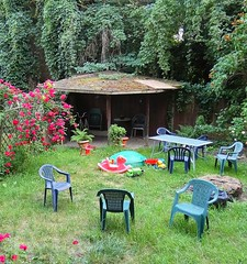 Friends' backyard playground (marek&anna) Tags: playground krakow