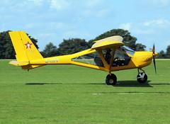 G-TIPP (wiltshirespotter) Tags: sywell laarally egbk aeroprakt a22 foxbat