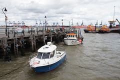 On Ha'penny Pier - Harwich (Neil Pulling) Tags: essex harwich havenports eastanglia coast northsea harbour port