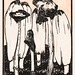 Ink mushrooms (1915) by Julie de Graag (1877-1924). Original from the Rijks Museum. Digitally enhanced by rawpixel