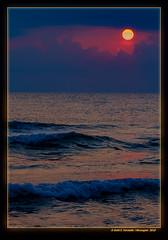 Alba mediterrània 33 (Mediterranian Dawn 33) Cullera, la Ribera Baixa, València, Spain (Rafel Ferrandis) Tags: alba mediterrània cullera marina ones eos7dmkii ef100400mmf4556lii