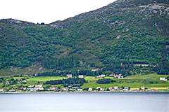 Cruising the Coast (Colorado Sands) Tags: sea water hillside forest landscape mountainside coast shore alesund norway scandinavia norwegian scandinavian europe norge norsk sandraleidholdt noruega ålesund building trees