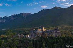 Fairmont Banff Springs Hotel (since 1960) Tags: kanada canada alberta banff nationalpark rockymountains berge wald forest haus house gebäude building architektur architecture fujifilmxt1 hotel