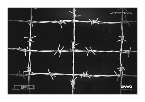 Barbed wire - Jasenovac (Croatia), From FlickrPhotos