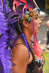 Head-dressWI Carnival Leeds 2018 (davidsharp159) Tags: leeds westindian carnival 2018 costume costumes parade portrait girl woman women
