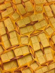 Tessella IX-IX-MMXVIII ( paper Tessellation - one uncut sheet of paper ) (Andrea Russo Paper Art) Tags: paperart tessellation paper light paperfolding squares rectangles