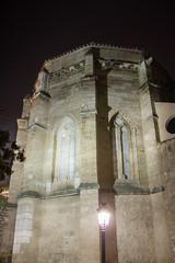 Exterior de noche abside iglesia de San Pedro Ciudad Real (Rafael Gomez - http://micamara.es) Tags: exterior de noche abside iglesia san pedro ciudad real