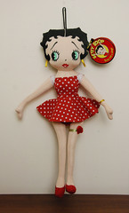 Betty Boop (Tamara Tarasiewicz) Tags: bettyboop 1999 material cloth red collection collectors collector doll vintage