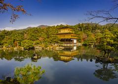 Kinkaku-ji Kyoto (jacksonb97) Tags: kinkakuji kyoto japan fall trees leaves lake reflection loxia sony 21mm zeiss temple history