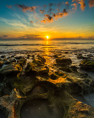 Coral Cove Sunrise (J.Coffman Photography) Tags: rocks sunrise florida state oceanscape