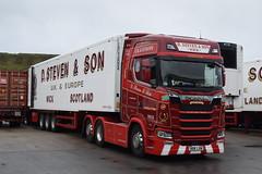 SK18LVN  D Steven & Son, Wick (highlandreiver) Tags: sk18lvn sk18 lvn d steven son wick caithness scotland scottish scrabster aberdeen bellshill scania truck lorry wagon freight transport
