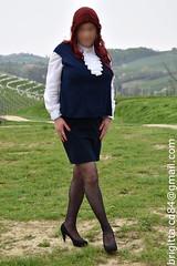 (brigitta.cd) Tags: crossdresser secretary jabot sissy