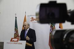 Rui Rio em conferência de imprensa