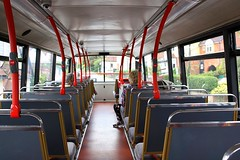 Top Deck and a nice bit of Lino (Chris Baines) Tags: fords althorne dennis trident alexander alx 400 t90 bus