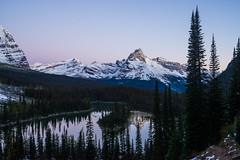 Cathedral Peak Sunrise (www.mikereidphotography.com) Tags: lake canada banff laeohara sunrise