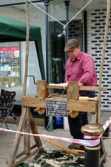 Wood Turner in Stafford, England.
