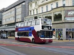 Lothian Buses 696 (SN04AEL) - 17-08-18 (peter_b2008) Tags: lothianbuses edinburgh dennis transbus trident plaxton president 696 sn04ael buses coaches transport buspictures
