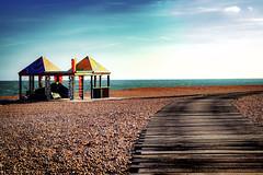 Fantastic place ... (Julie Greg) Tags: folkestone sea beach nature colours traveling way sky stones seaside