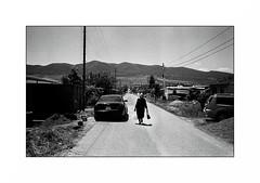 Tserovani - Georgia (Punkrocker*) Tags: leica m7 summicron asph 35mm 352 film kodak trix 400 nb bwfp street city people tserovani refugees georgie georgia travel