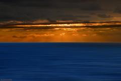Serenity (ricardocarmonafdez) Tags: atardecer sunset seascape mar sea cielo sky color nubes clouds sunlight movement effect edition nikon d850 24120f4gvr