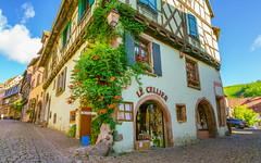 Riquewihr, France - 1 (Dhina A) Tags: sony a7rii ilce7rm2 a7r2 a7r variotessar t fe 1635mm f4 za oss sonyfe1635mmf4 sel1635z tour holiday trip favorite french magical medieval beautiful village france riquewihr alsace architecture alsatian