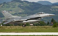 F-16C 87-0279 120thFS 140thWG Colorado ANG Buckley AFB, CO (Maverick 31ATSG) Tags: f16c viper 870279 120thfs cougars 140thwg colorado ang buckley afb slovenia brežice cerklje ob krki air base