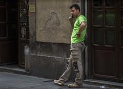 the call (charlesgyoung) Tags: spain barcelona gothic quarter charlesyoung nikon nikonphotography nikondx d500 travelphotography streetphotography