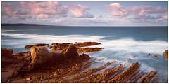 Crooklets Beach, Bude, Cornwall(#10) (S.R.Murphy) Tags: august2018 bude cornwall landscape coast coastallandscape coastal seascape coastline longexposure fujifilmxt2 fujifilmxf1855mm leefilters lee06ndgrad rocks sea ocean water sky 10stopfilter crookletsbeach
