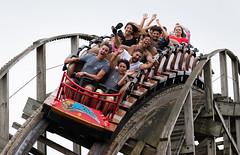 Wildcat (zachclarke) Tags: hersheypark hershey amusementpark themepark pa pennsylvania 2018 summer august nikon nikond5600 d5600 zachclarke2 zachclarke rollercoaster rollercoasters woodencoaster woodcoaster gci greatcoastersinternational midwayamerica wildcat