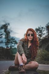 Bruna Garoni (hudsonbrazilsantos) Tags: nikon linda brasileira braziliangirl beauty guarapari portrait portraitperfection retrato beleza ruiva redhair blueeyes eyes olho