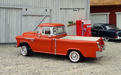 1956 Chevrolet Cameo Carrier Pickup Truck (JCarnutz) Tags: 124scale diecast franklinmint 1956 chevrolet cameocarrier pickuptruck