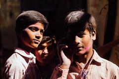 Three Boys in Shri Banke Bihari Mandir (AdamCohn) Tags: adamcohn bankebiharimandir hindu india shribankeybiharimandir vrindavan holi pilgrim pilgrimage होली
