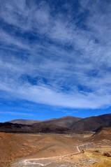 untitled (san antonio de los cobres - salta, argentina) (bloodybee) Tags: sanantoniodeloscobres salta argentina southamerica americalatina landscape sky clouds travel trip mountain road