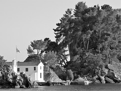 parga (gerben more) Tags: parga blackwhite monochrome island church greece