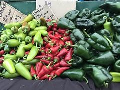 Peppers at Underwood Family Farms (TomChatt) Tags: food farmersmarket