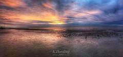 Hunstanton (katieharding1989) Tags: hunstanton sunnyhunny norfolk westnorfolk norfolkcoast coast beach seaside sunset sun reflection photography nikon panoramic