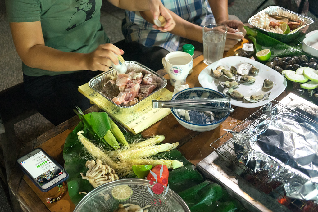 最奢華的中秋烤肉組 海鮮大集合之 龍膽石斑、泰國蝦、蚵、大卷 |小農聯盟21
