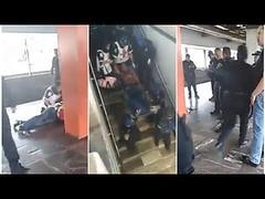 Hieren a policía tras descubrir que trabajaba de encubierto en el metro (HUNI GAMING) Tags: hieren policía tras descubrir que trabajaba de encubierto en el metro