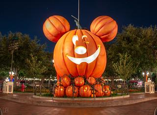 Mickey Mouse Pumpkin 9_5_2018 *EXPLORE*