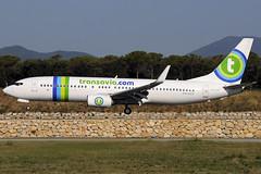 Transavia B737-8K2 PH-HZX GRO 11/08/2018 (jordi757) Tags: airplanes avions nikon d300 gro lege girona costabrava boeing 737 boeing737 b737 b737800 transavia phhzx
