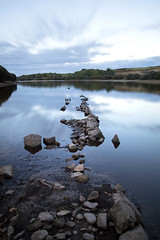 L O S T (Andrew Hocking Photography) Tags: lost argal reservoir dam lake bluehour refelction water sky wall ruins lowwater low hotsummer summer 2018 dry longexposure landscape leefilters mabe penryn falmouth cornwall uk gb granite