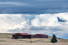 Departing Storm (Tom's Macro and Nature Photographs) Tags: landscapephotography landscape clouds sky montana storm weather